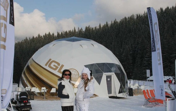 7. IGLOO GEODESIC DOMES