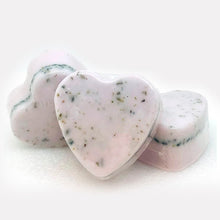Load image into Gallery viewer, Lavender Heart Shape Goat's Milk Soap-Relax