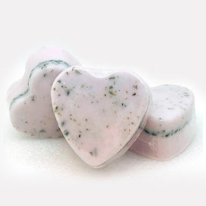 Lavender Heart Shape Goat's Milk Soap-Relax