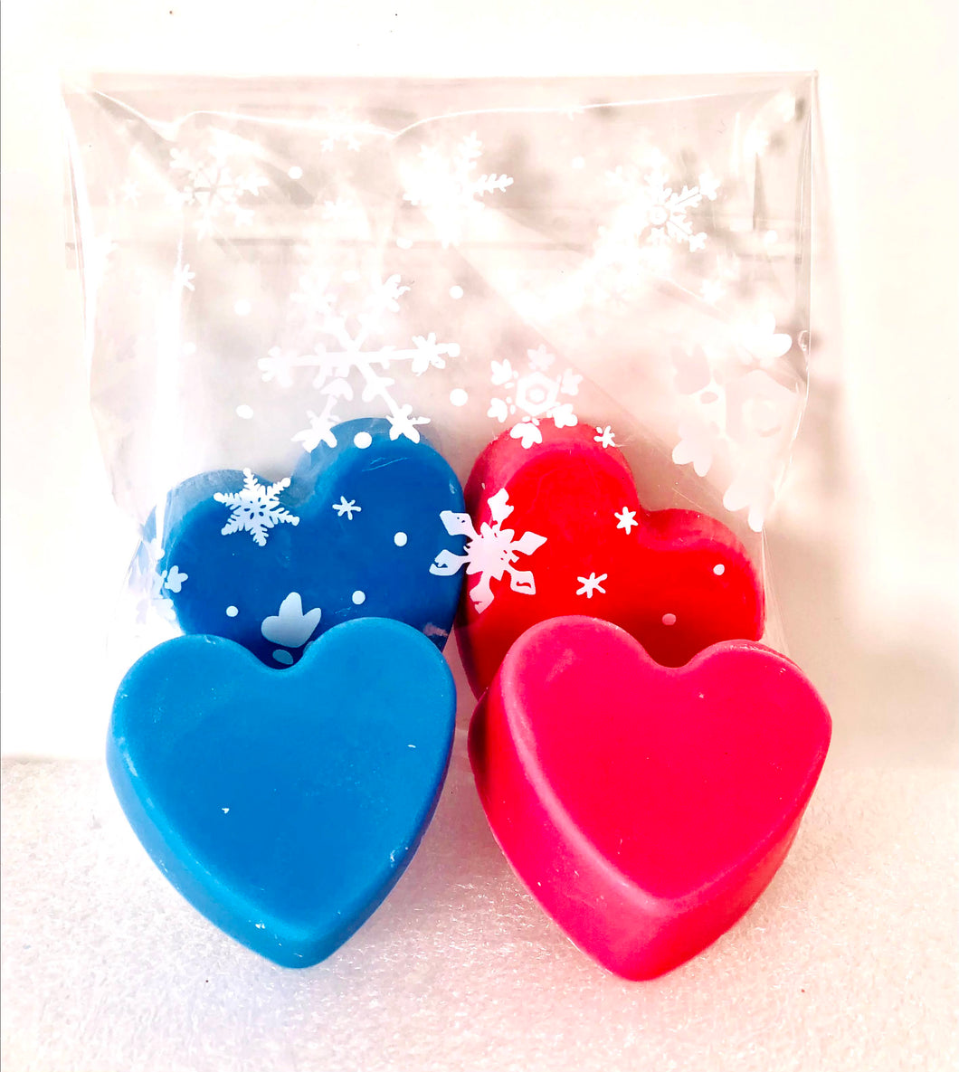 Wax Melts Heart to Heart collection-in pairs