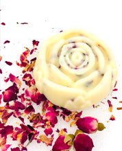 Load image into Gallery viewer, Moisturizing Rose Shape Lotion Bar
