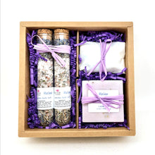 Load image into Gallery viewer, Lavender Spa Box - Relax
