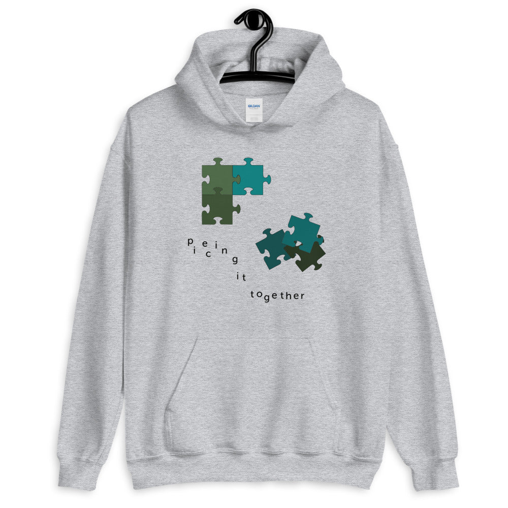 Piecing It Together Hoodie