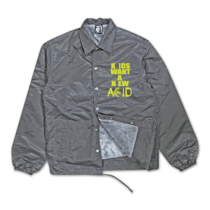New Acid Coach Jacket (GRAY)