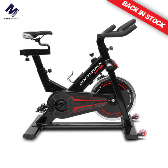 Back in Stock - Bodyworx A117BB (A117) Spin Bike - Manic Fitness