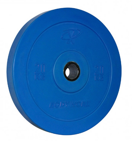 Bodyworx Coloured Bumper Plates - Manic Fitness