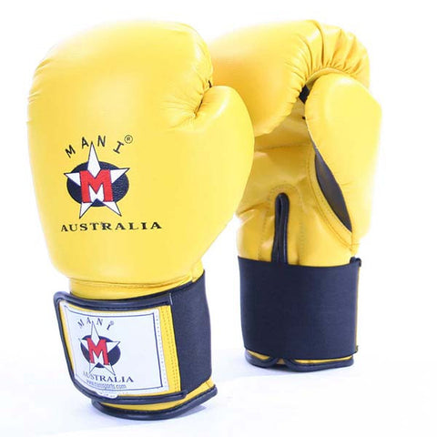 Mani S.Leather Boxing Gloves - Manic Fitness