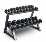 Flat Tray Dumbbell Rack - Manic Fitness