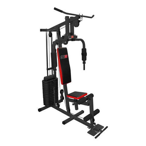 Bodyworx 200lb Gym with Adjustable Seat L700020B - Manic Fitness