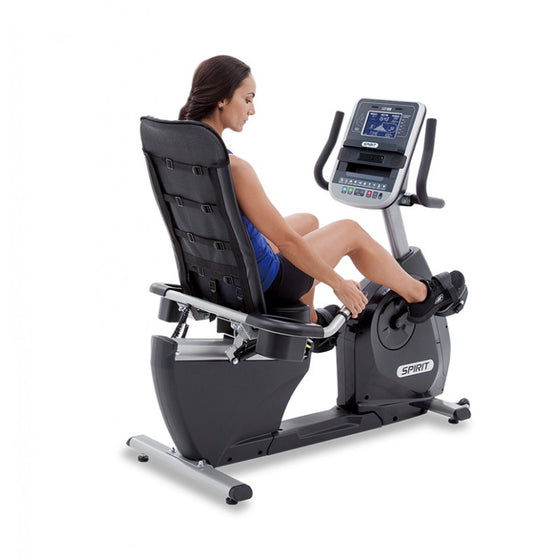 Spirit XBR95 Recumbent Bike - Manic Fitness
