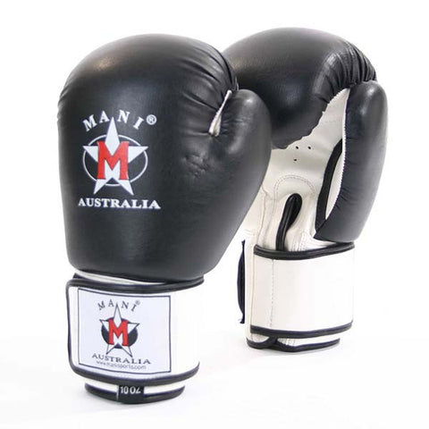 Mani Black Boxing Gloves - Manic Fitness