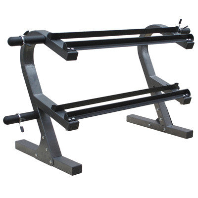 Bodyworx 7390DBR Dumbbell Rack, 2 tier - Manic Fitness