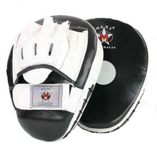 Mani Deluxe Leather Curved Focus Pads - Manic Fitness