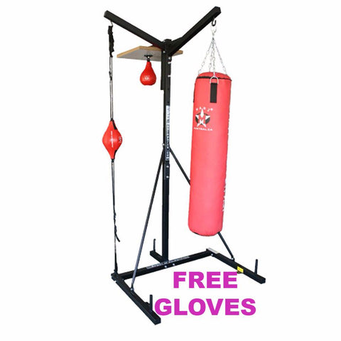 Mani 3 Way Boxing Stand - Manic Fitness