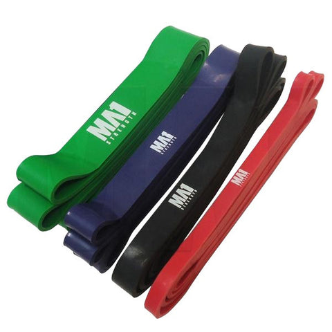 MA1 Resistance Power Bands - Manic Fitness