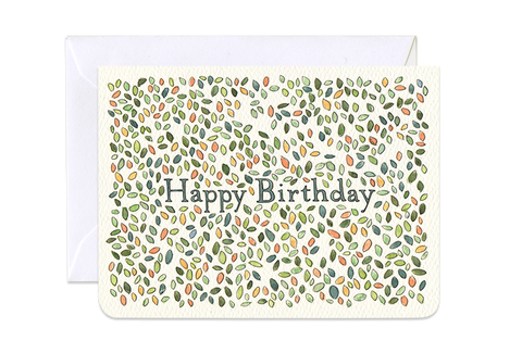 1324M Birthday Leaves Mini