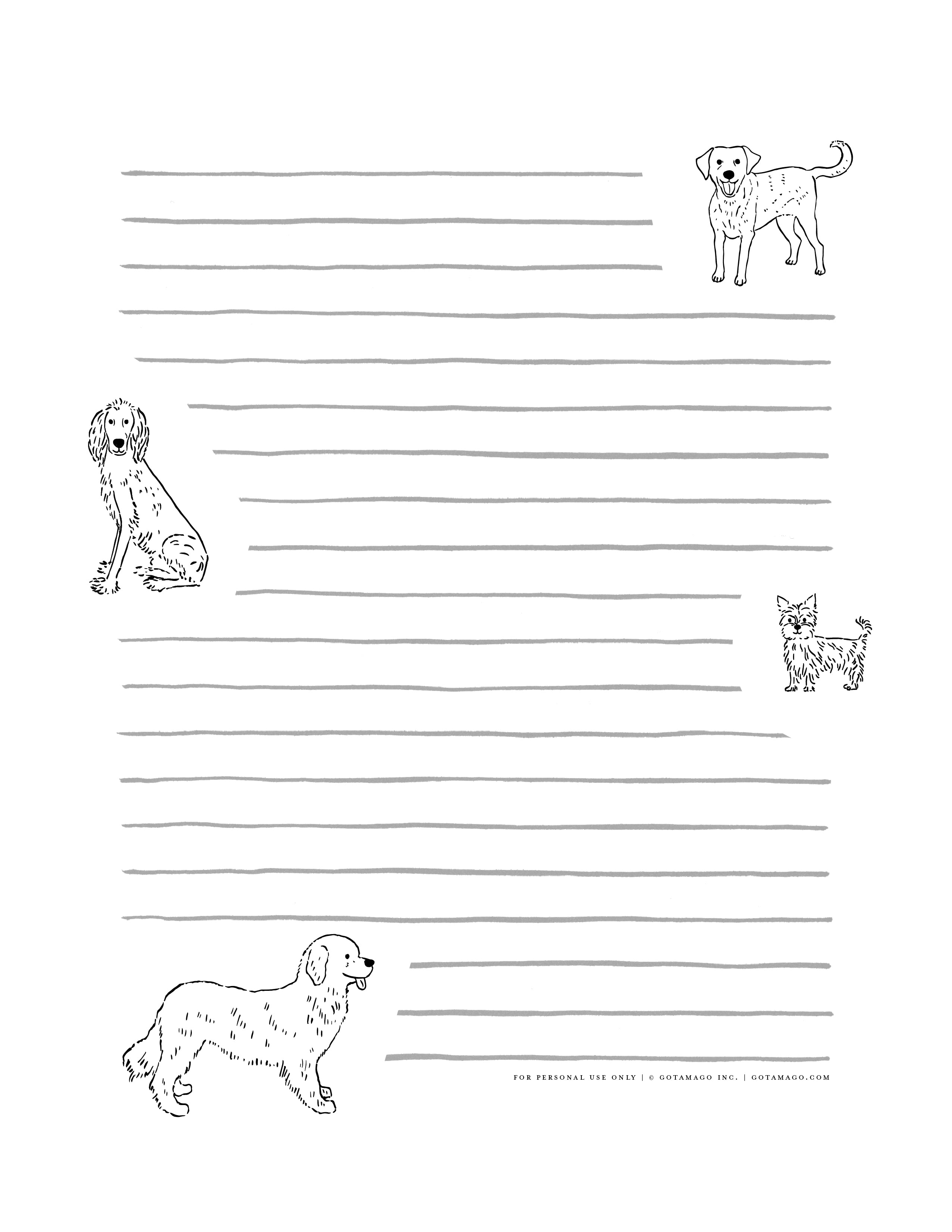 This is a photo of Free Stationary Printable with regard to kids