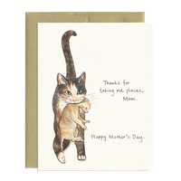 Cat Mom - Adorable Cat & Kitten Mother's Day Greeting Card