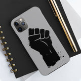 Black Fist Case Mate Tough Phone Cases