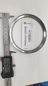 H-5B001 - Gauge bezel 110mm chrome round