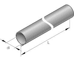 Glassfibre hose (heat protection)