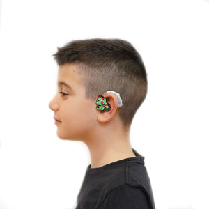 Rock Dino Hearing Aid Accessory Kit