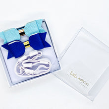 Load image into Gallery viewer, Hearing Aid Headbands - Blue Duo