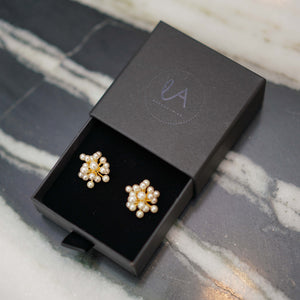 Pearl Cluster Charms - Hearing Aid Jewellery