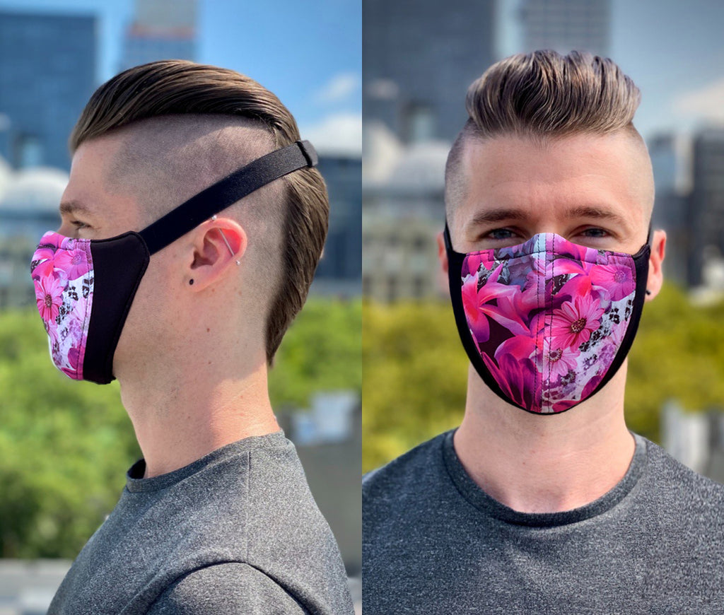 The Wrap Mask (Blush Floral)