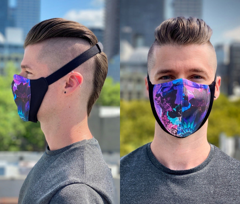 The Wrap Mask (Psychedelic Floral)