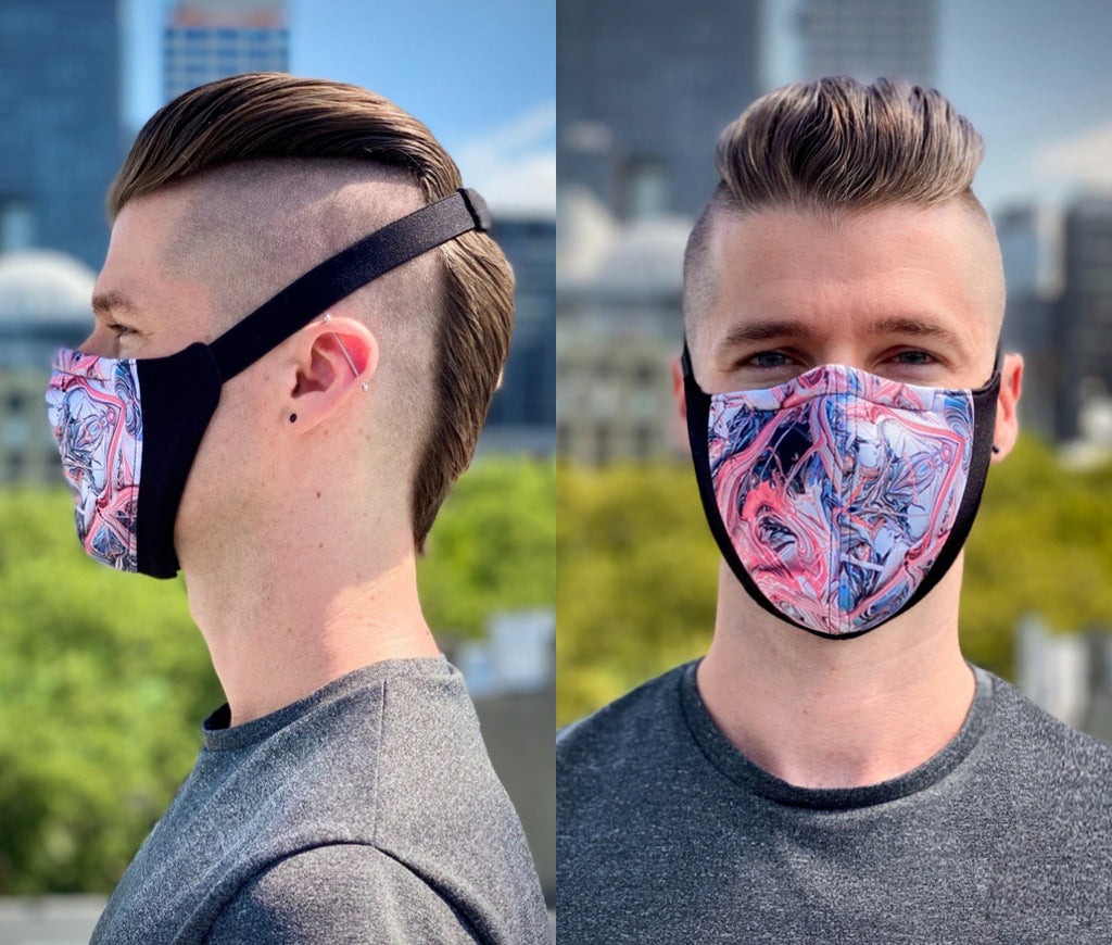 The Wrap Mask (Rorschach Pink)