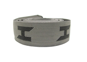 Halcyon Gray with Black Webbing Replacement for Secure Harness, NO Hardware