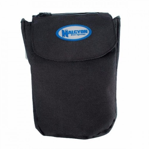 Halcyon Bellowed large exploration pocket, Velcro & Zipper closures