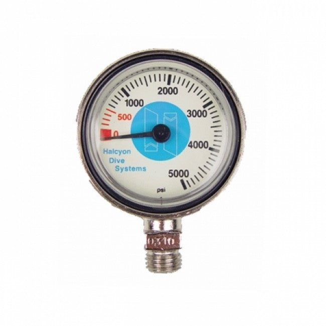 Halcyon Submersible pressure gauge for Stage, 0-5000 psi, No Hose