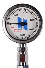 Load image into Gallery viewer, Halcyon Submersible pressure gauge for Stage, 0-400 bar, No Hose