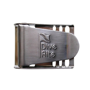 Dive Rite Weight Belt Buckle - Stainless Steel