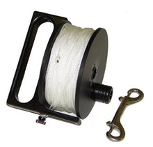 "Load image into Gallery viewer, Light Monkey 400' Primary Reel with #24 Line and 4.625"" SS Clip"