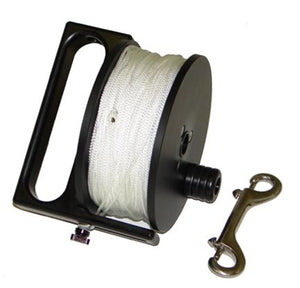 "Light Monkey 400' Primary Reel with #24 Line and 4.625"" SS Clip"