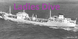 Dive Charter to the wreck of the Stolt Dagali September 6, 2021 Ladies Dive