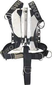 OMS SS Backplate w/ CR SmartStream Harness and Crotch Strap SS