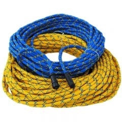 Comrope, blue, 200' Assembled, Banana Plugs Topside (for MK2-DCI or Combox) to OT5-4P Hiuse Connector on Diver End