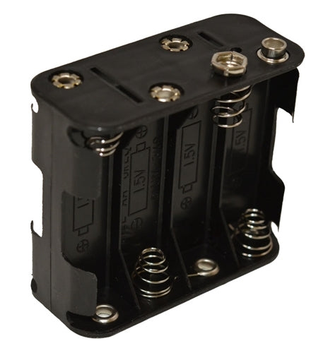 8-cell Battery Holder. Holds 8 AA Alkaline Batteries. Used w/SSB-2010, 2001B-2, 1001B, ComBox & MK-7
