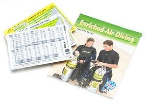 PADI Enriched Air Diver Specialty Manual w/Tables, Imperial