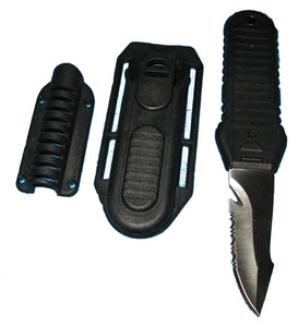 Trident BCD Knife With Hose Mount