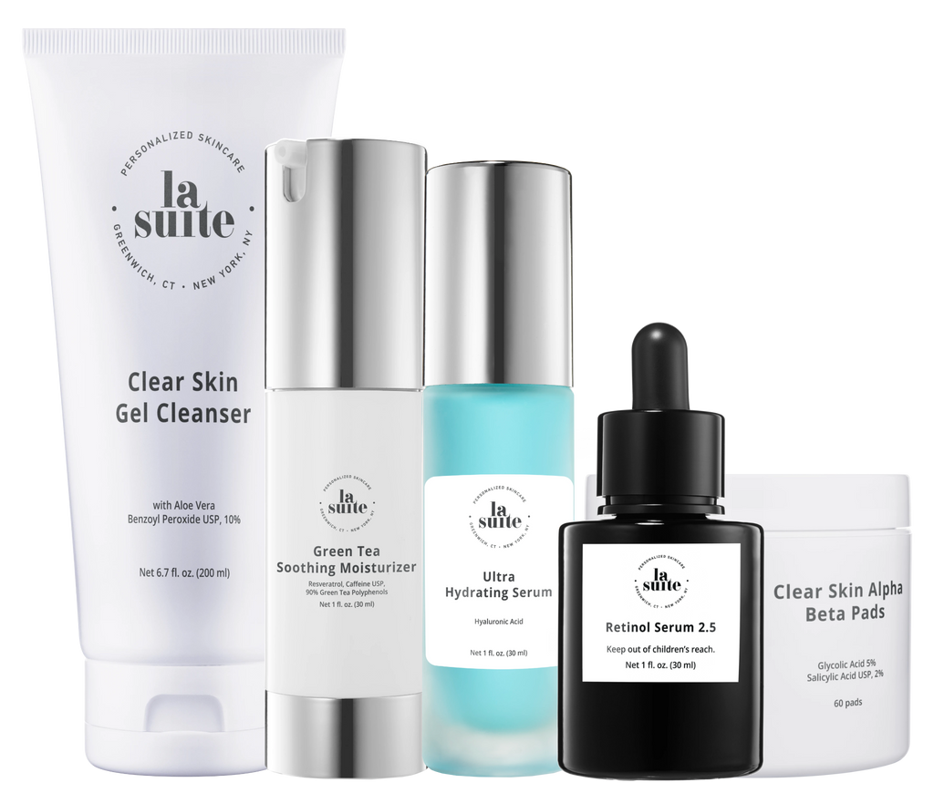 La Suite Skincare Large Pores/Oily Skin Bundle