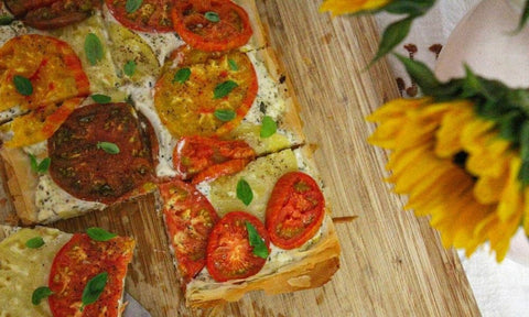Cute Tomato Flatbread snack ideas