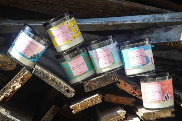 Sara Boone x Citrus & Cane Collaboration Candles