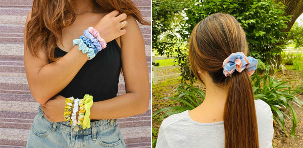 are scrunchies better for your hair?