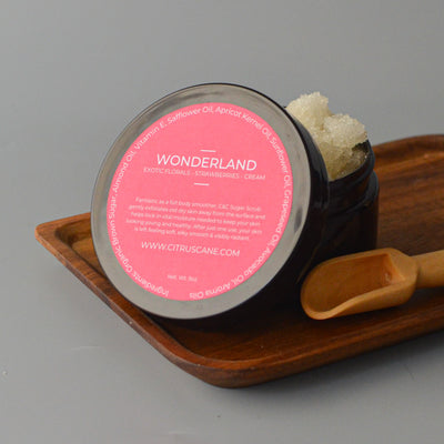 Wonderland Sugar Scrub - Citrus & Cane LLC