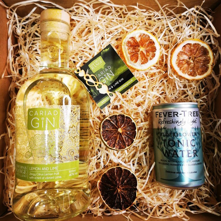 Lemon And Lime Gin Gift Box 500ml